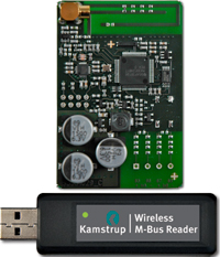 Wireless m bus reader